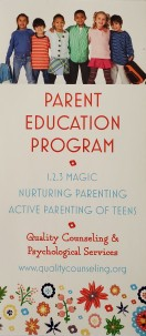 Quality Counseling Parent Education Front